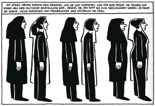 """Pressematerial aus """"Persepolis"""""""