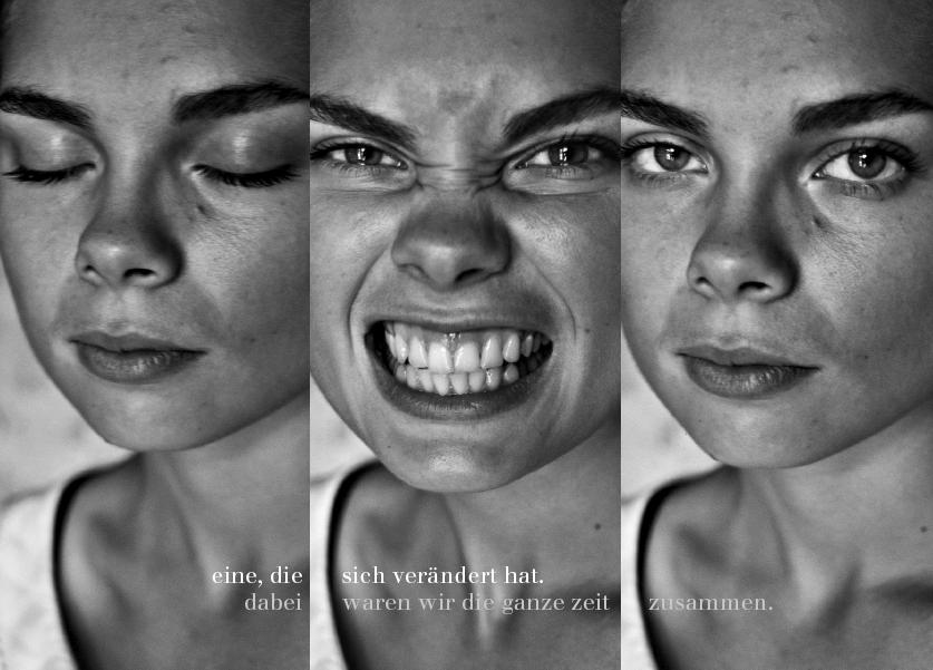 Eine, die. Photographien und Aphorismen. Heike Bogenberger und Susanne Krones